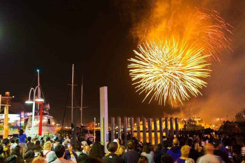 fremantle festival blessing of the fleet fireworks