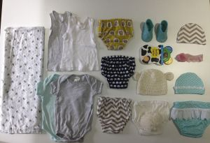 capsule wardrobe for newborn