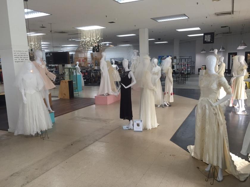 wedding dress exhibition at Many6160