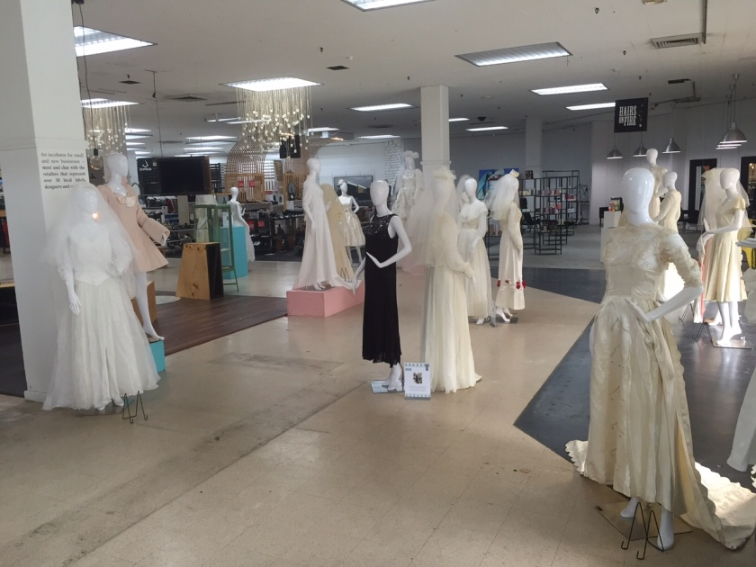 wedding dress exhibition at Many6160