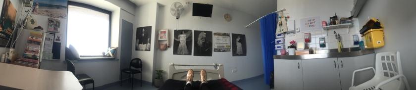 hospital room panorama