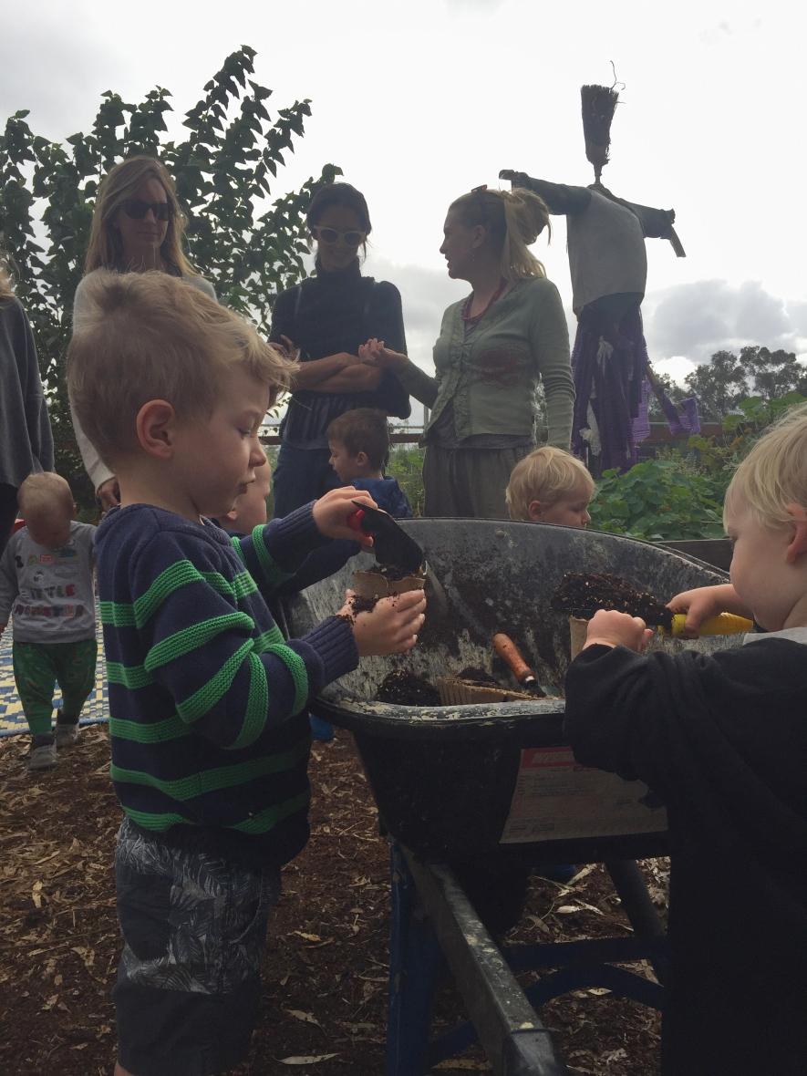 hilton community garden